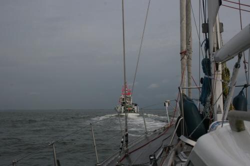 Aan acht knopen naar Norderney